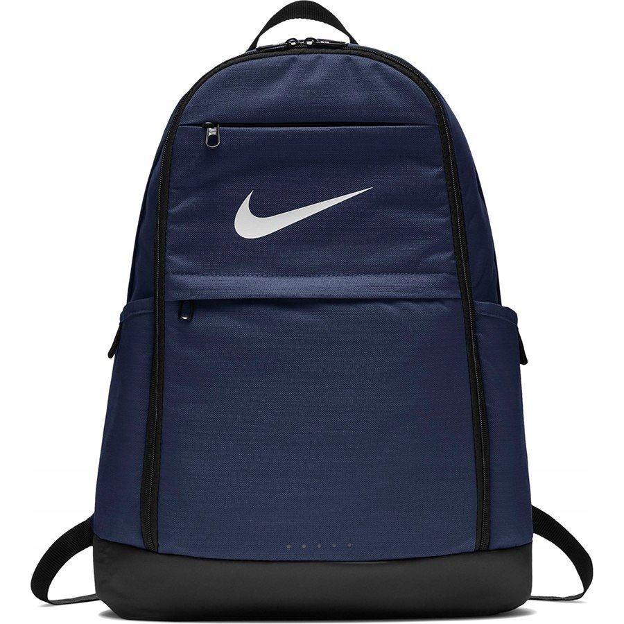 Plecak szkolny Nike BA5892 410 Brasilia granatowy