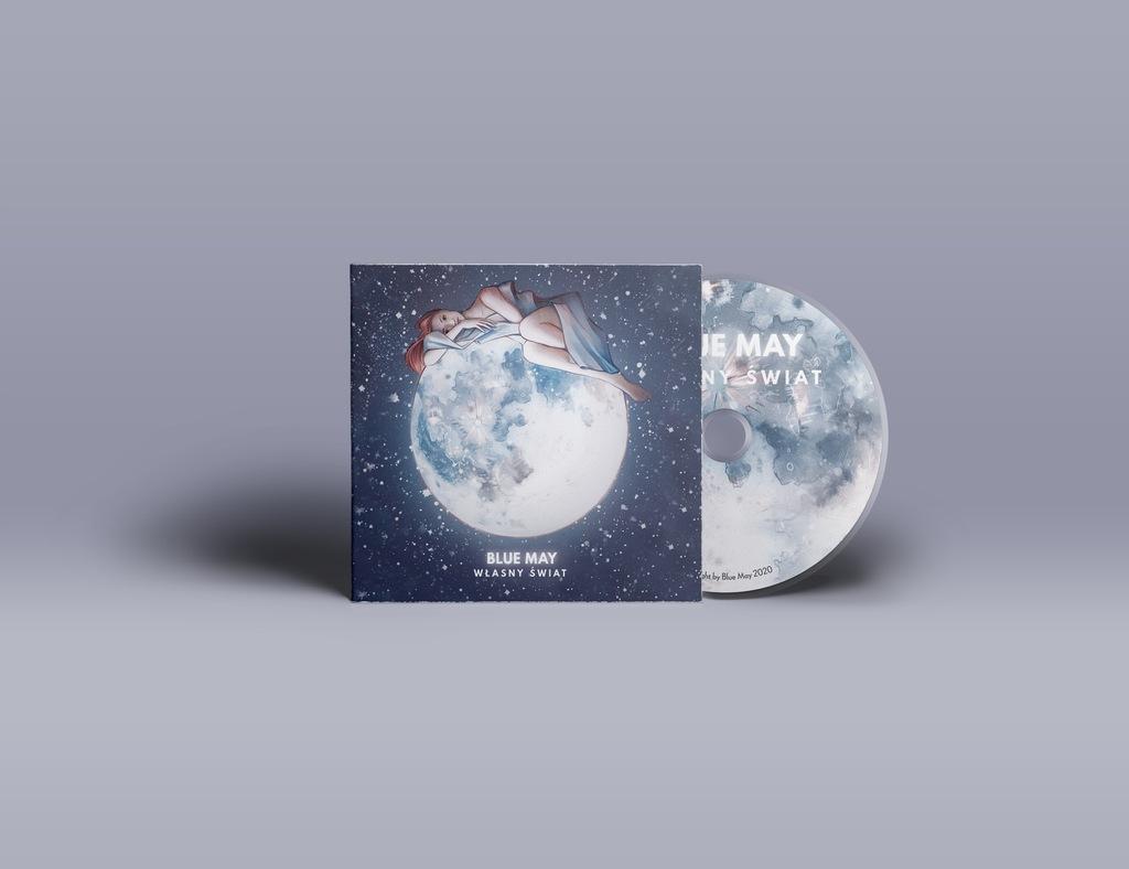 Przedpremierowa płyta zespołu Blue May