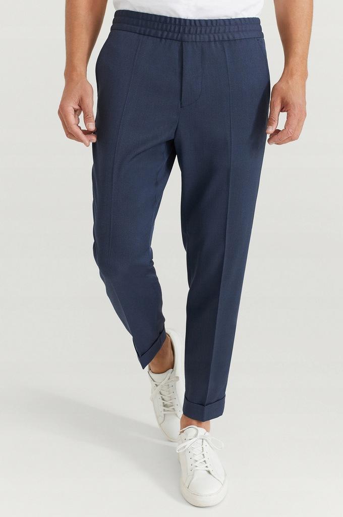 Filippa K Spodnie M. Terry Cropped Trouser XS