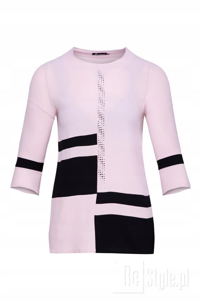 Tunika Doris Plus Size - Różowa 52