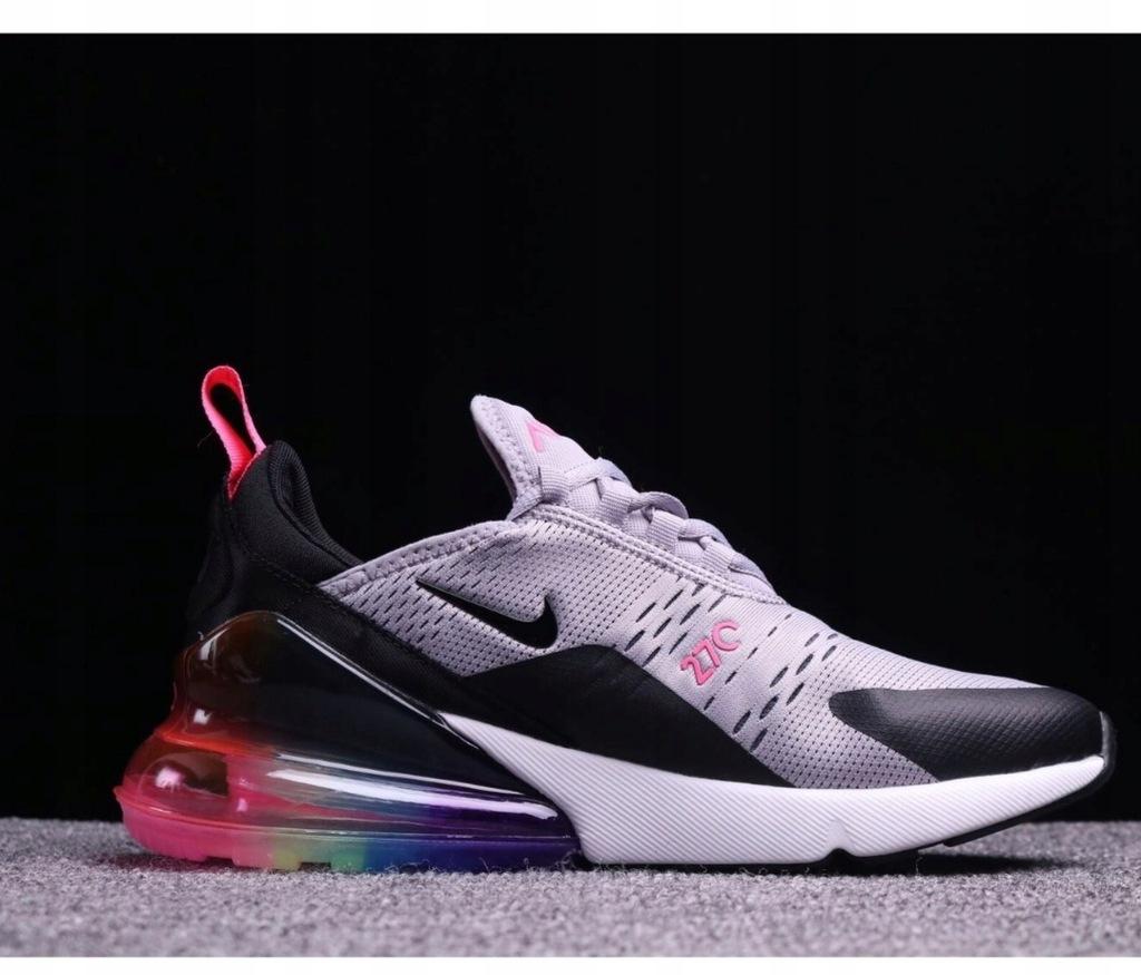 Nike air max 270 damskie tęczowe multicolor 8367023171