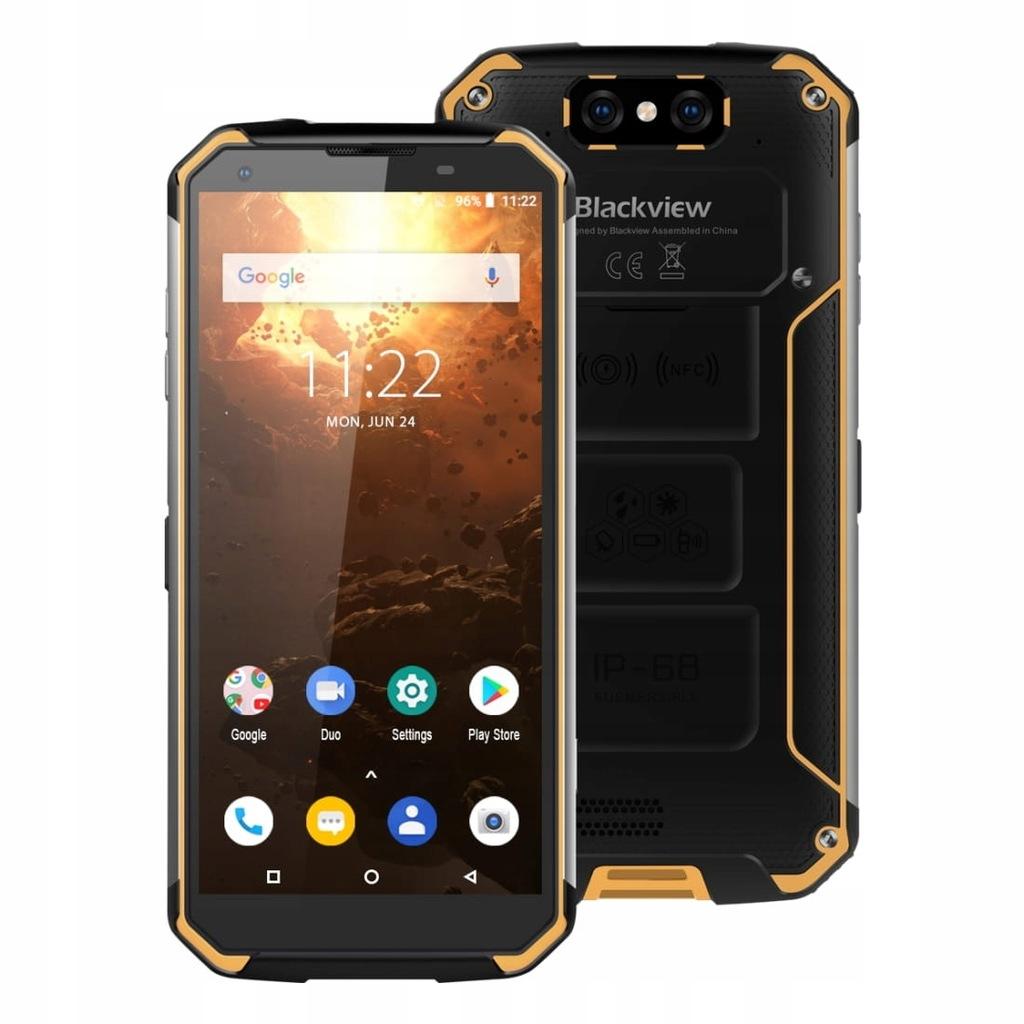 Telefon BLACKVIEW BV9500 PLUS IP68 4/64GB ŻÓŁTY