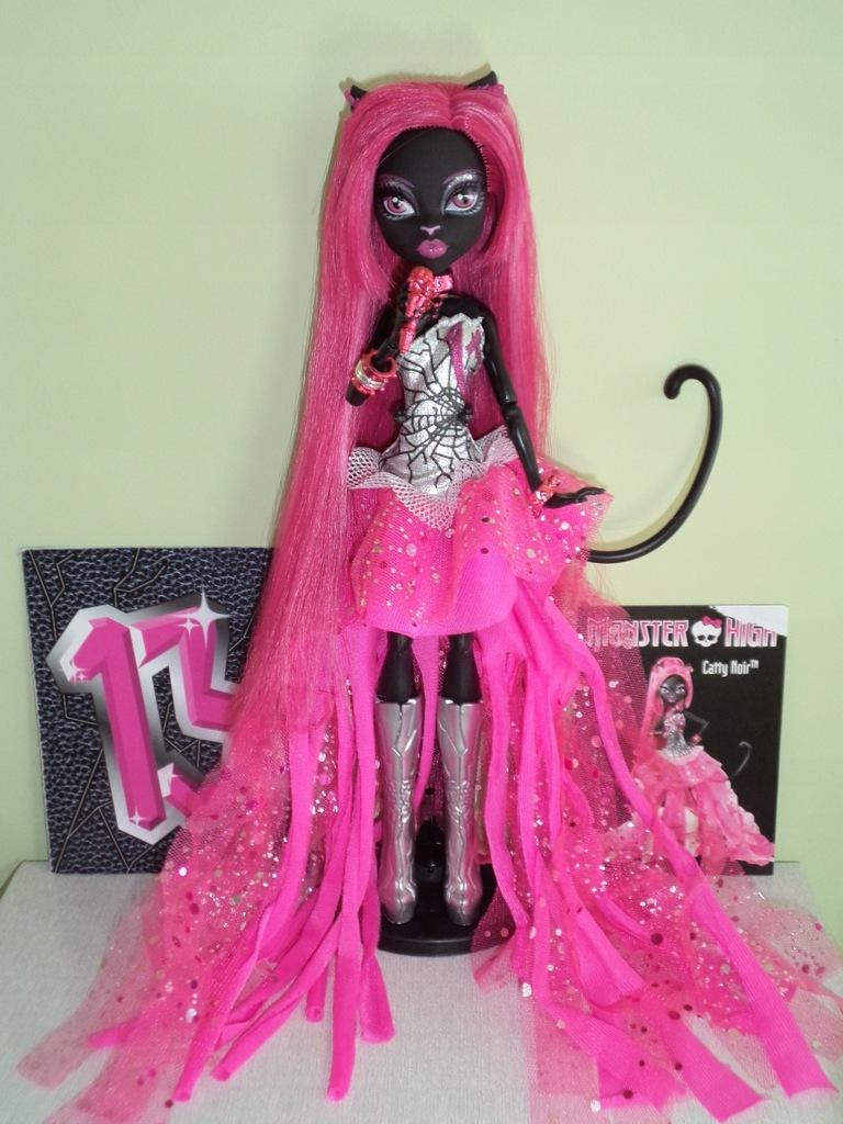 Lalka Monster High Catty Noir 13 Zyczen 9546072807 Oficjalne Archiwum Allegro