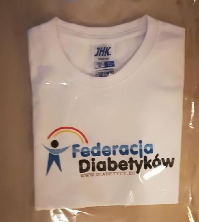 Koszulka Federacji Diabetyków - rozmiar dowolny