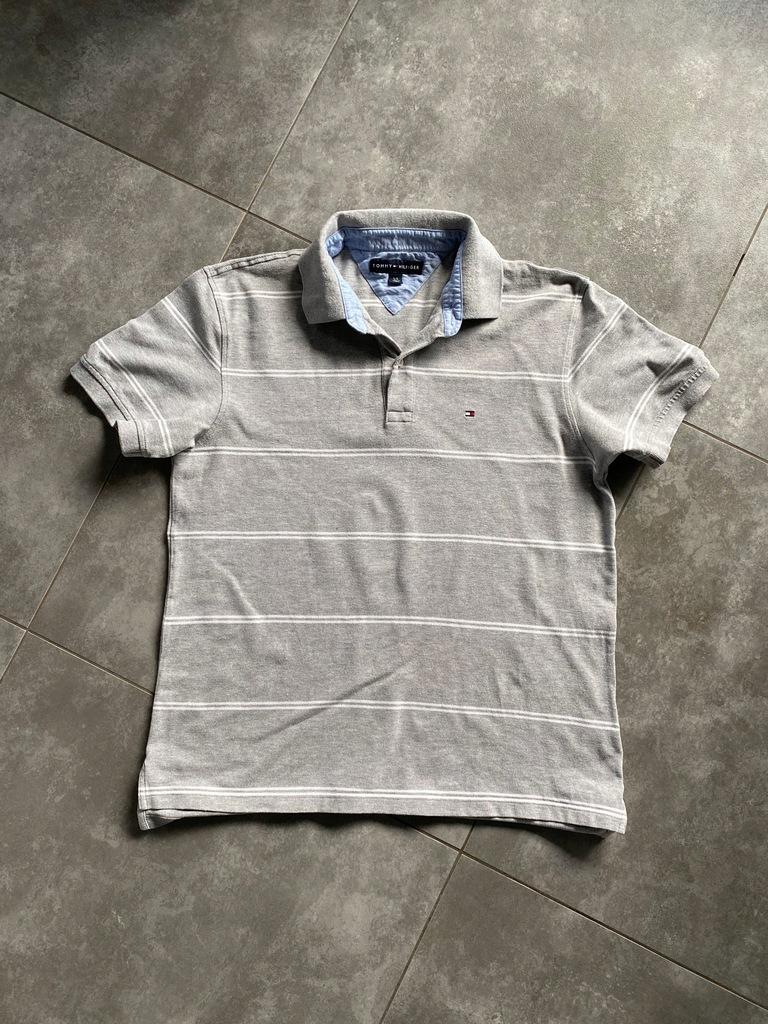 TOMMY HILFIGER koszulka polo r. L BDB