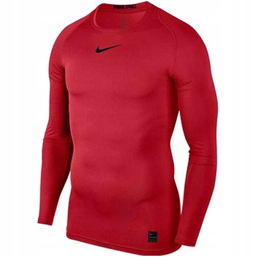 Koszulka Nike NP TOP LS COMP czerwony XXL!