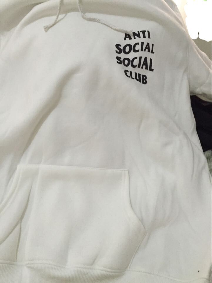 ASSC ANTI SOCIAL SOCIAL CLUB!! BLUZA KAPTUR!! HIT!