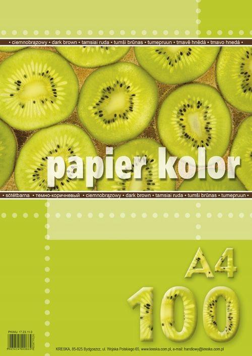 "PAPIER KSERO A4""100 BRĄZ C.KRESKA"