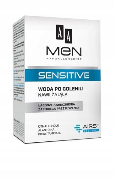 AA Men Sensitive woda po goleniu nawilżająca 100ml