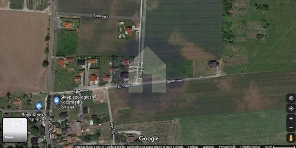 Działka, Galowice, Żórawina (gm.), 1600 m²