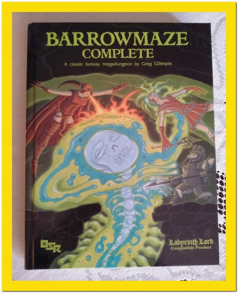 OSR MegaDungeon BARROWMAZE COMPLETE Gra RPG Unikat