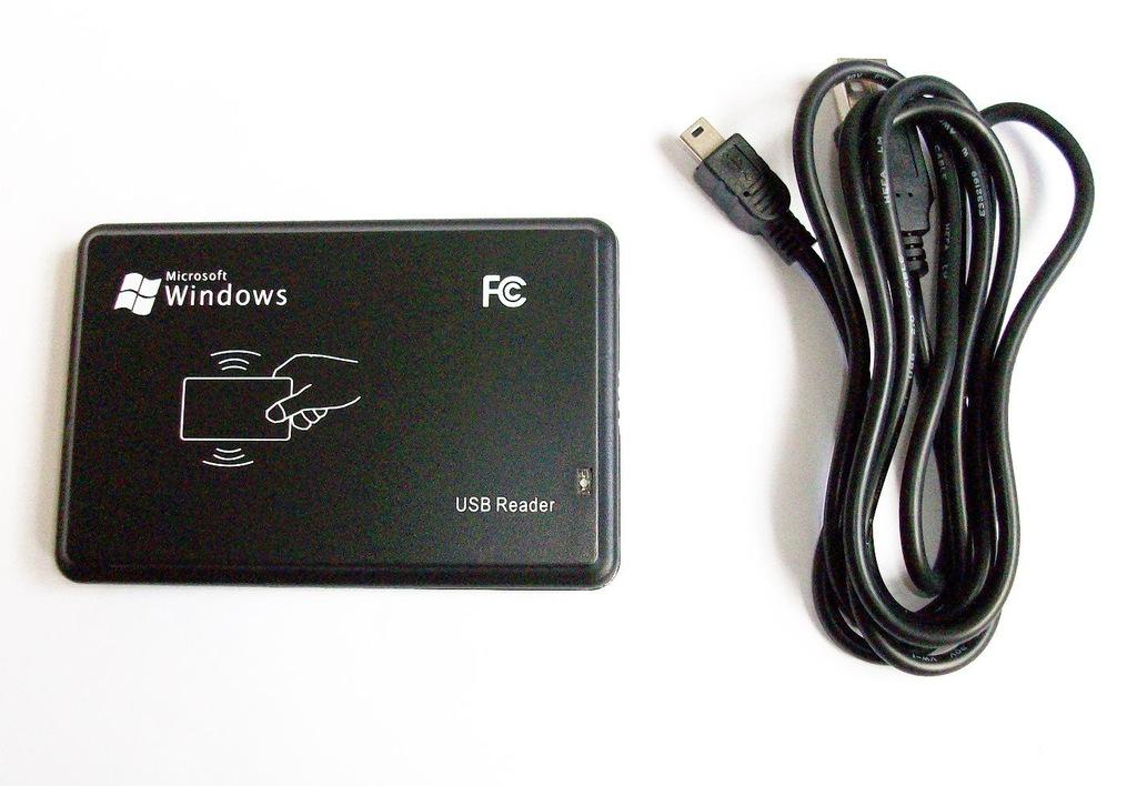 Czytnik kart breloczków RFID 125 kHz UNIQUE na USB