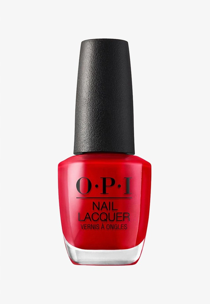 OPI Lakier Big Apple Red NL N25 czarny czerwony