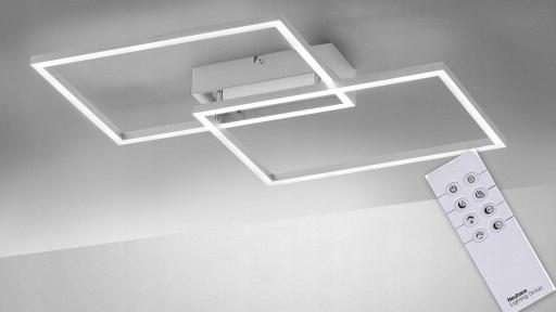 plafon lampa LED+PILOT+ŚCIEMNIACZ/ ciepła / zimna
