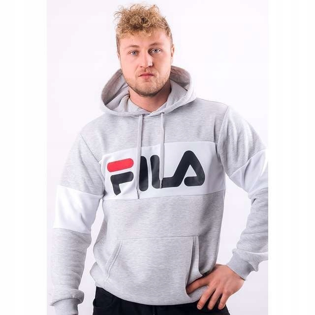 Bluza Fila MEN HECTOR (687457) Light Grey Melange Bros