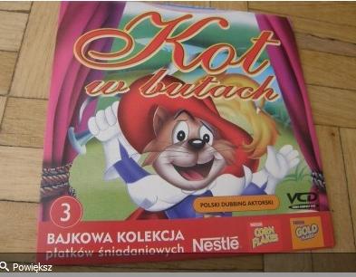*BLOX* VCD KOT W BUTACH bajkowa kolekcja