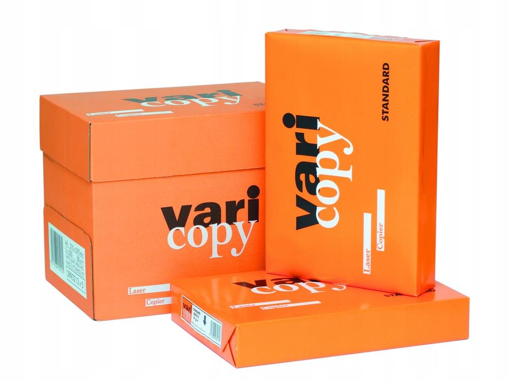 Papier biurowy A4 biały VARICOPY /UNICOPY KWIDZYN