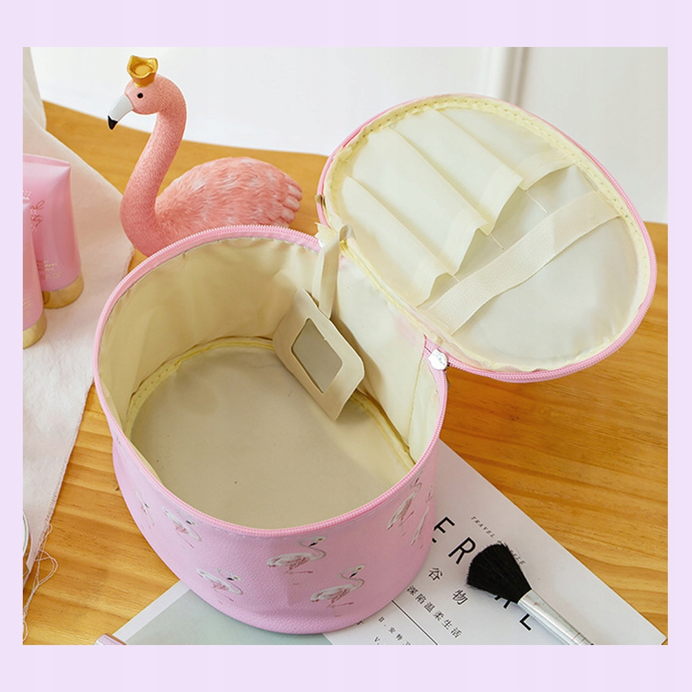 Flamingo Wzór Kosmetyczki Torby Przenośne etui do