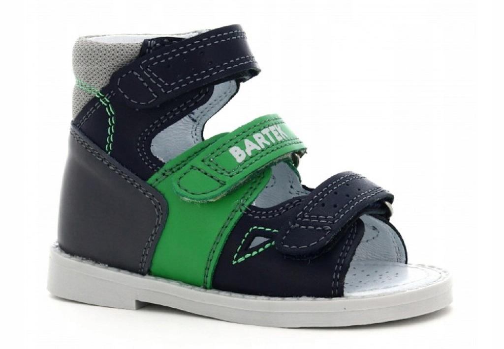 Sandały profilaktyczne Bartek C40 - 23