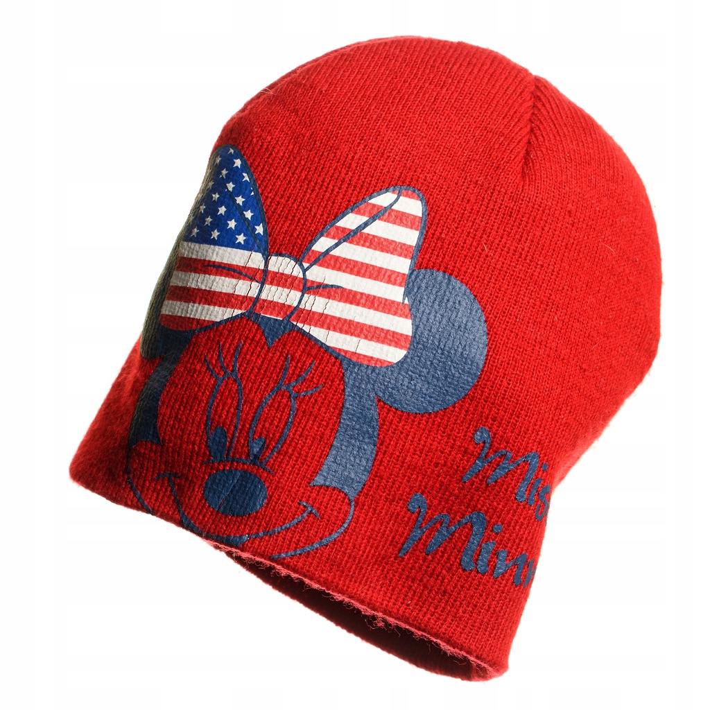 Czerwona czapka Disney, Minnie, 54 cm