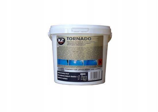 K2 TORNADO 1 KG Proszek do czyszczenia tapicerki