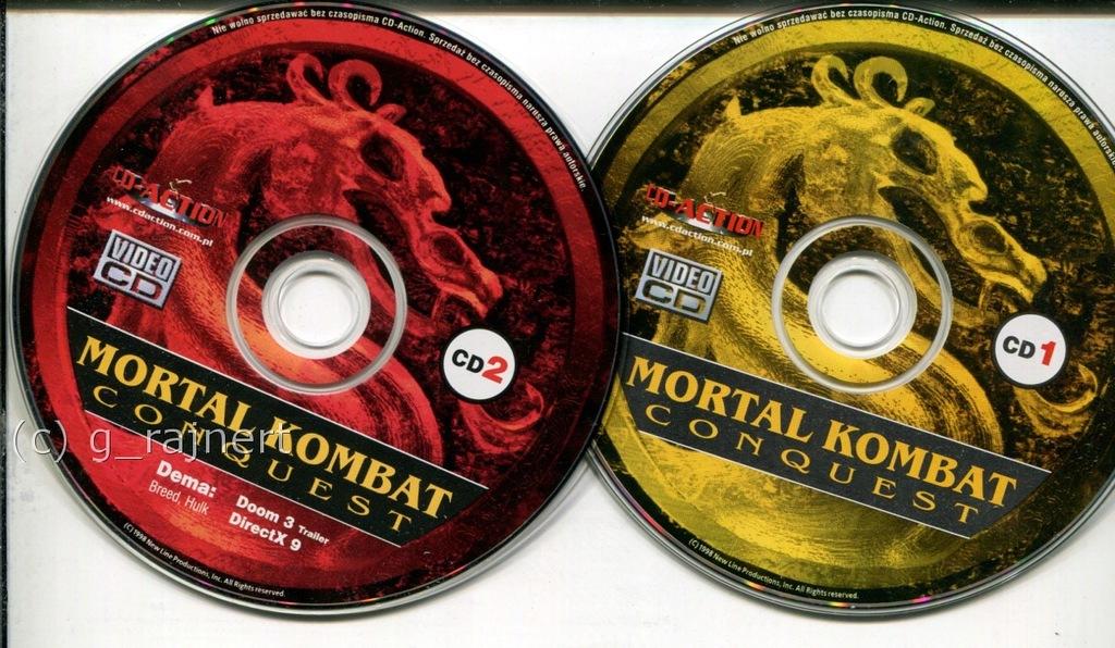 CDAction VCD Mortal Kombat Conquest