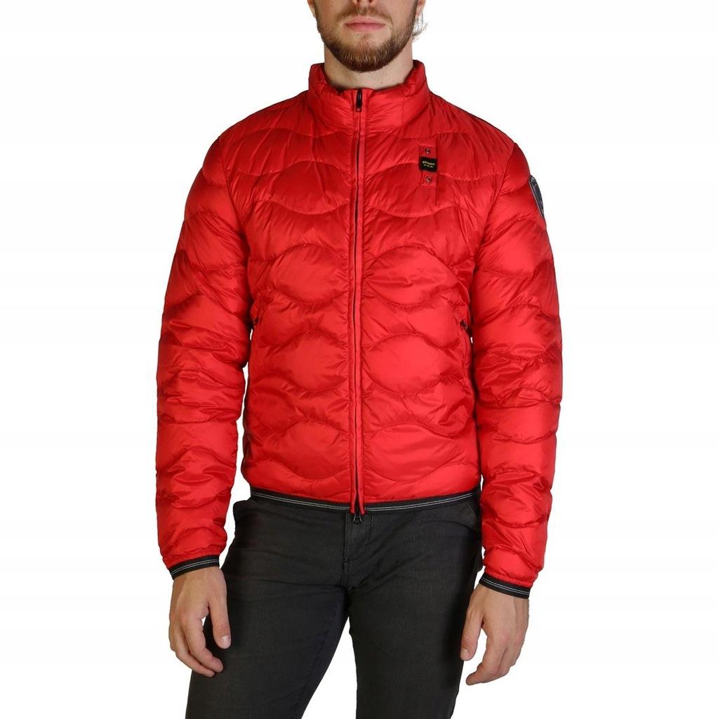 Blauer kurtka męska czerwony 3XL