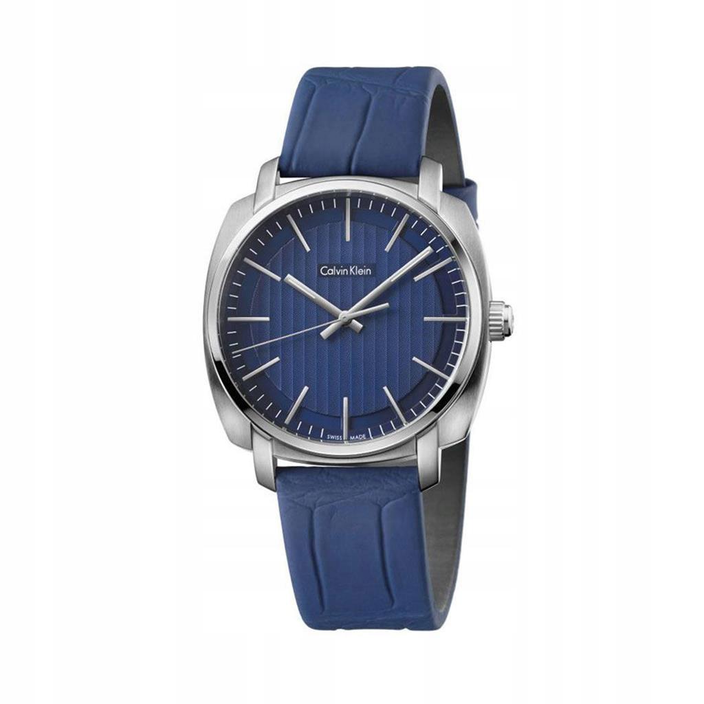 Calvin Klein zegarek męski niebieski