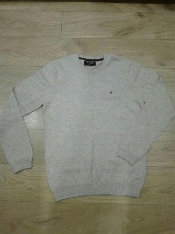 Sweter męski Reserved M jasny beż kremowy