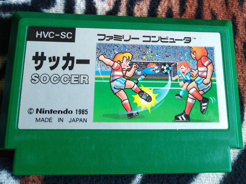 Kartridż (Cartrigde) Famicom Soccer