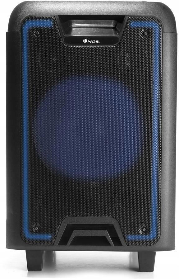 Głośnik DJ NGS Wild Metal Bluetooth USB LED 200W
