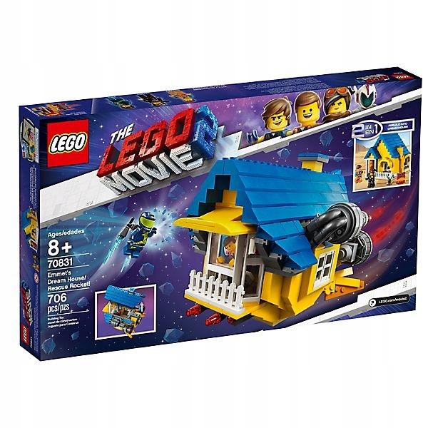 Klocki Lego The Movie 2 Dom Emmeta Rakieta 70831 7745799418 Oficjalne Archiwum Allegro