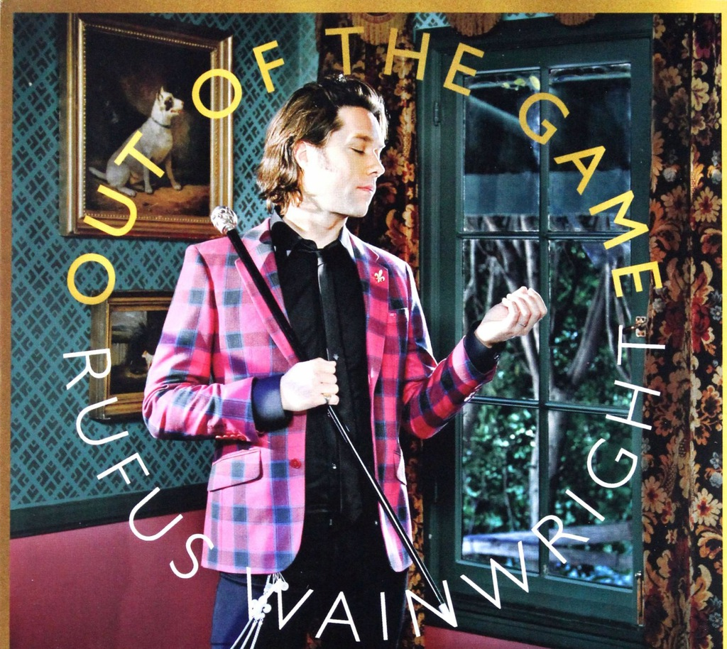 RUFUS WAINWRIGHT: OUT OF THE GAME (DELUXE) (CD)+(D
