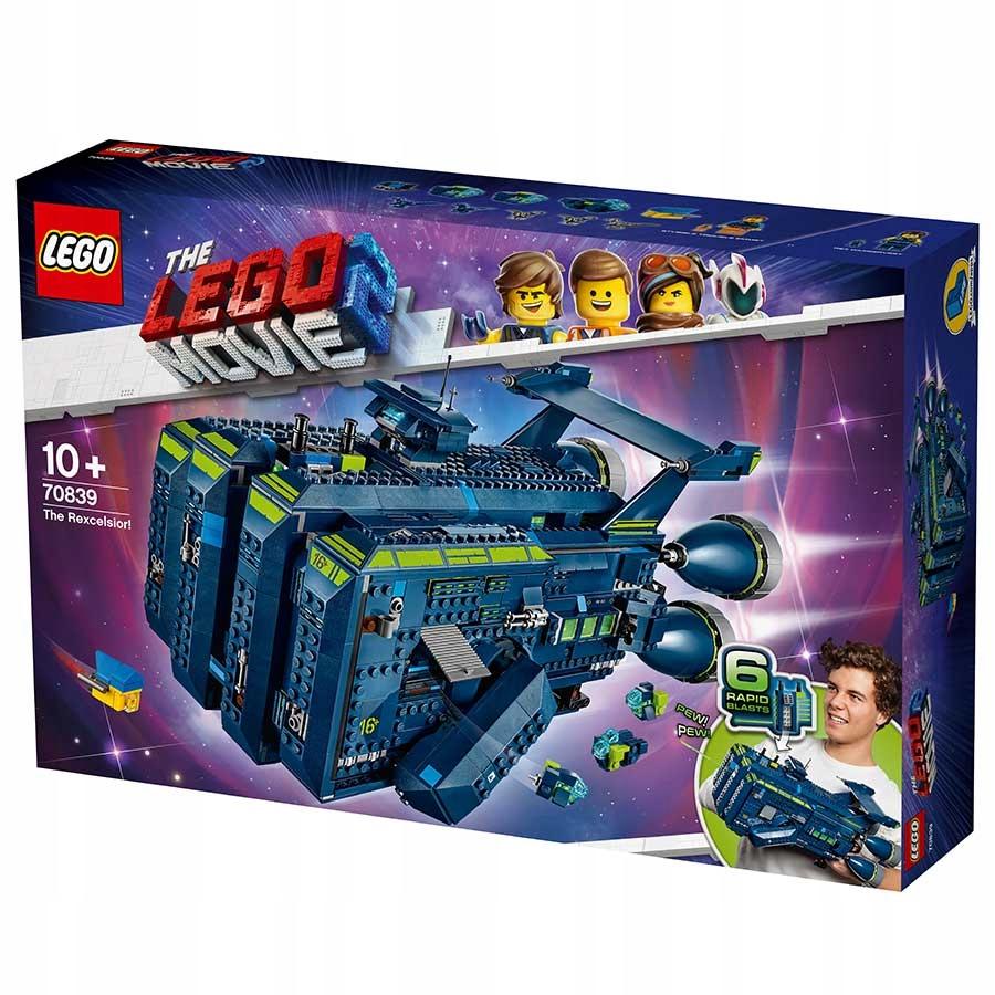 Lego 70839 The Rexcelsior Movie 2 Przygoda Klocki 8137501484 Oficjalne Archiwum Allegro