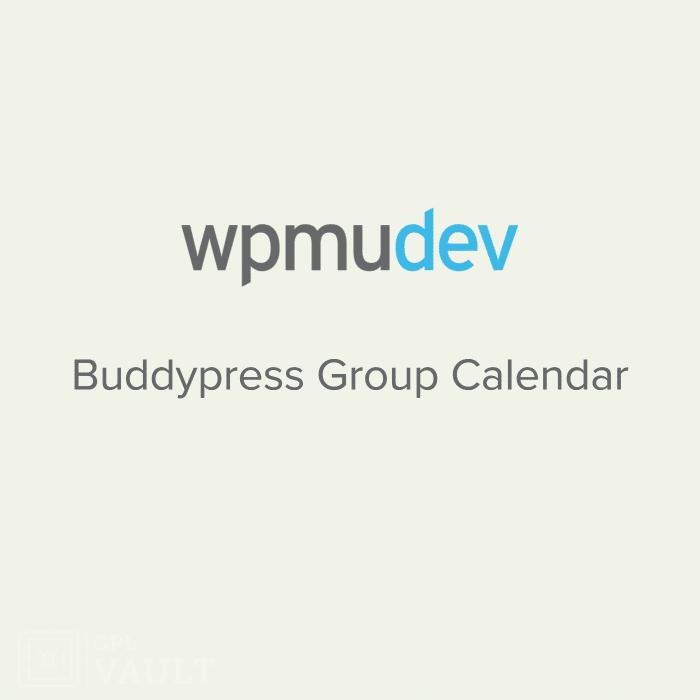 Wtyczka WPMU DEV BuddyPress Group Calendar