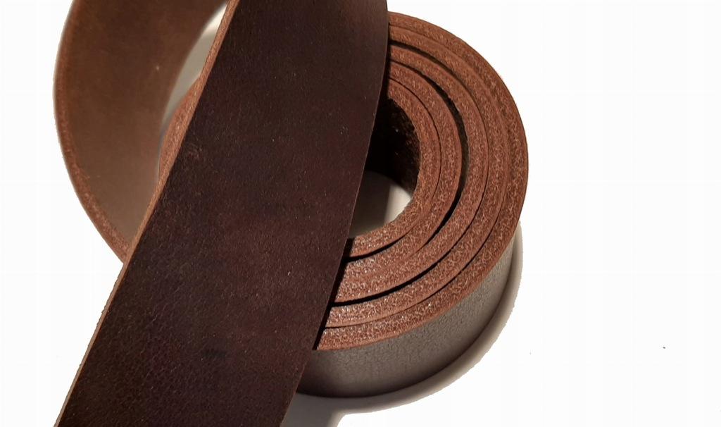 Pas skórzany brąz 3,5mm 3,5x130 (P01)