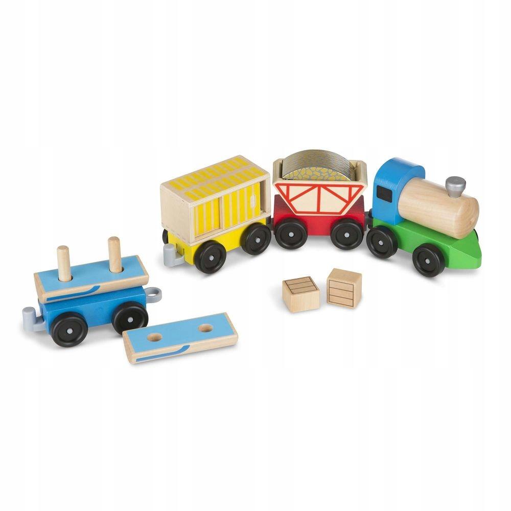 Pociąg towarowy drewniany dla dzieci MelissandDoug