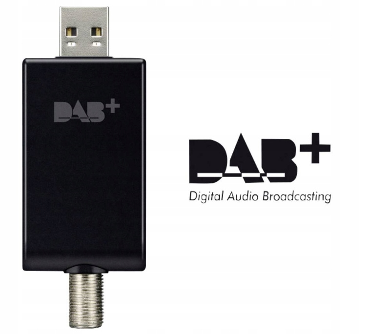 Pioneer AS-DB100 Adapter radiowy USB DAB + FM