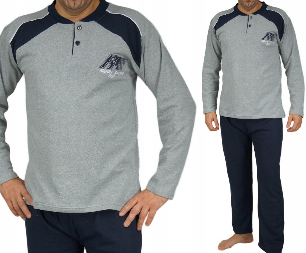 Piżama męska XL wygodna bawełna NOWOŚĆ ciepła R1
