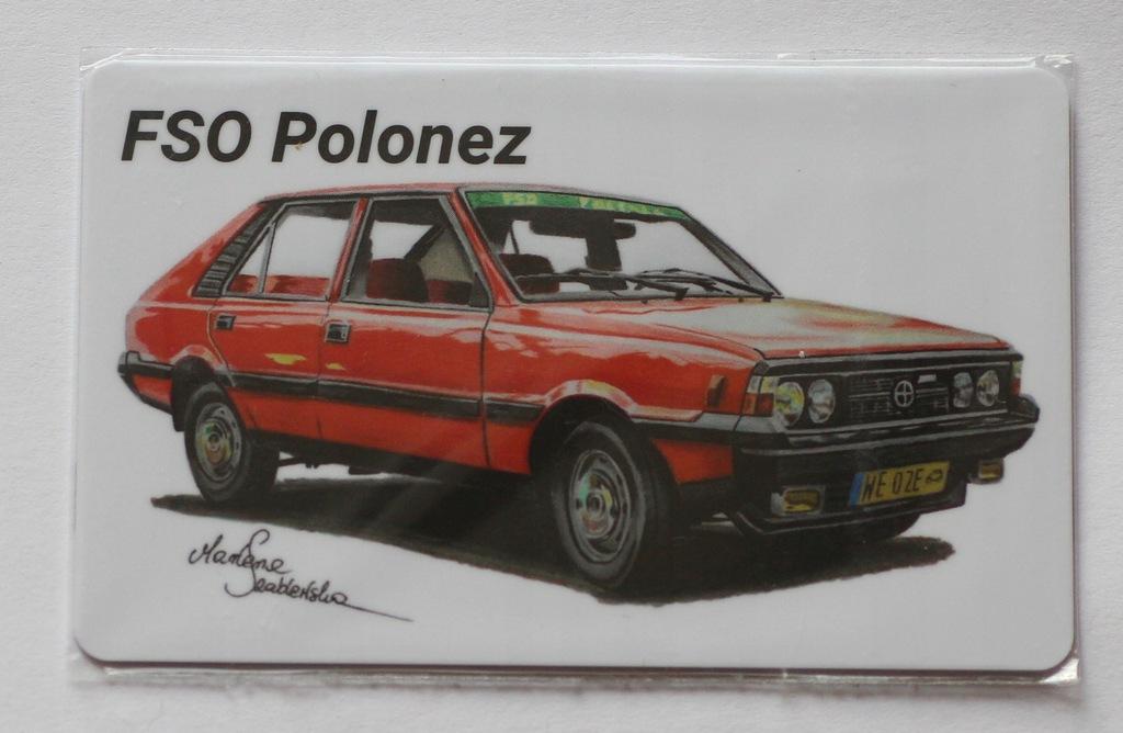 Karta telefoniczna Telegrosik -FSO Polonez