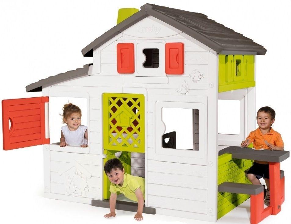 Smoby Domek Friends House z dzwonkiem 810200