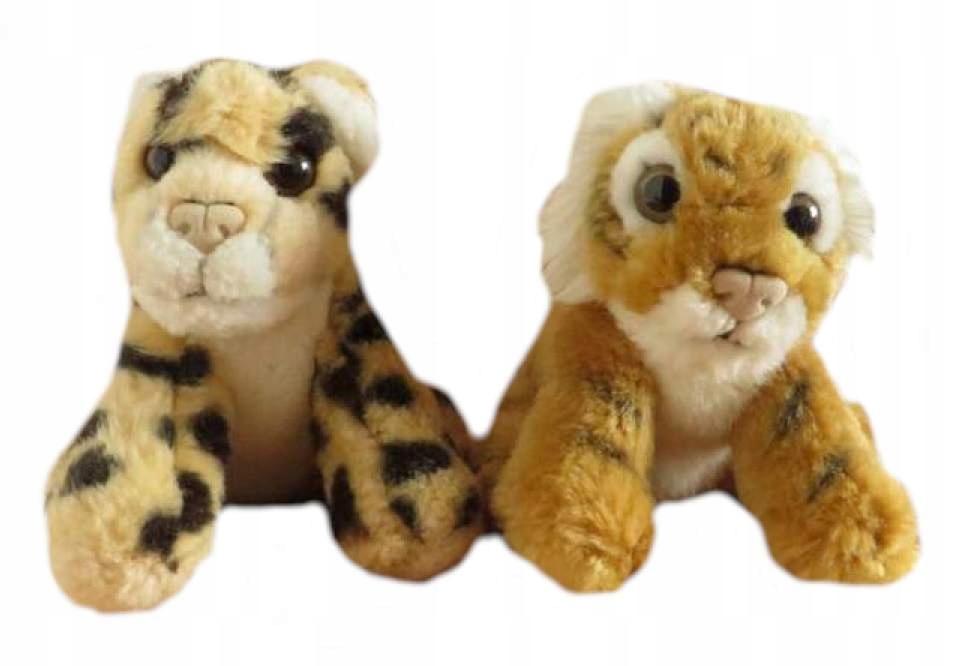 2x TYGRYSEK tygrys zwierzak maskotka pluszak (nw81