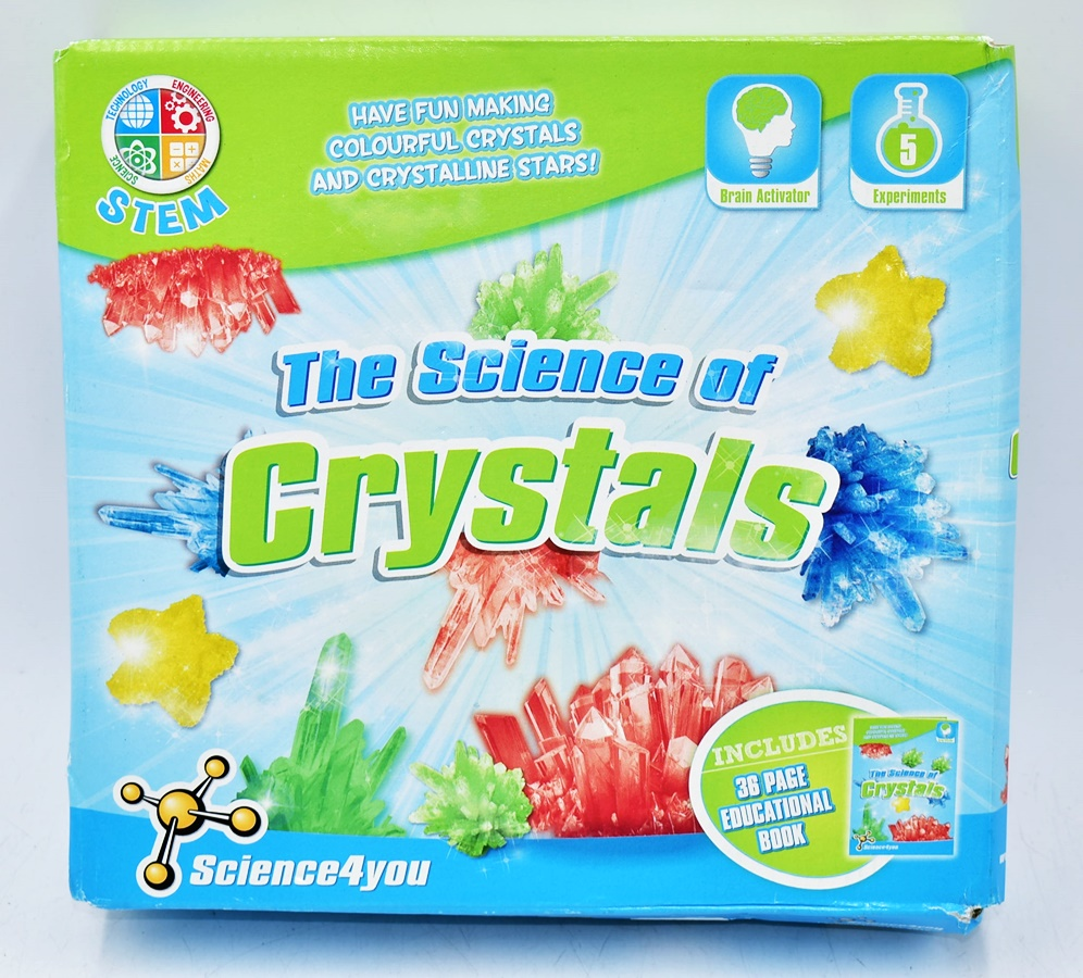 4909-21 ...STEM THE SCIENCE OF CRYSTALS ... o#g