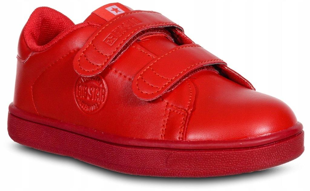 Buty Big Star DD374030 dziecięce trampki czerwone