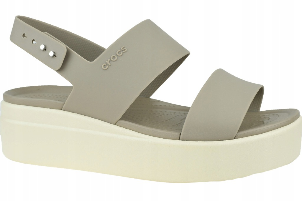 CROCS BROOKLYN LOW WEDGE _36/37_ Damskie Sandały