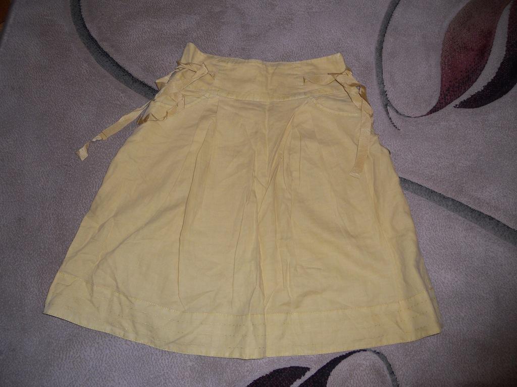 Spódnica/spódniczka damska Reserved34 rdzawy żółty