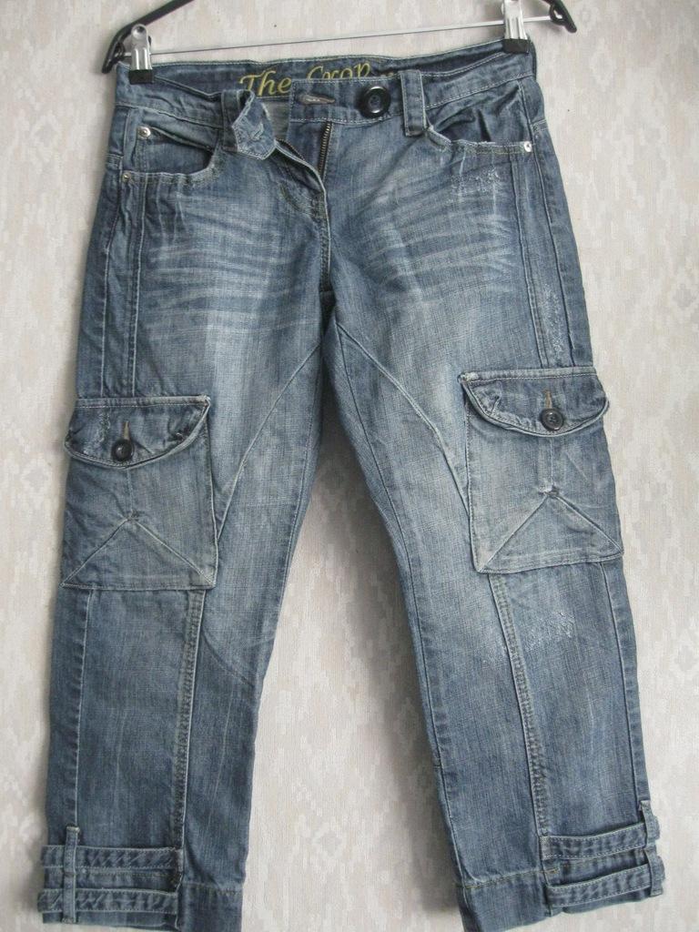 Nowe Rybaczki jeansowe Next