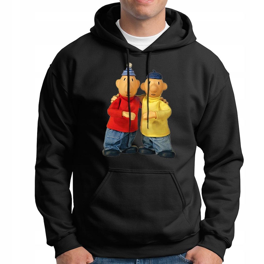 bluza SĄSIEDZI gruba hoodie kaptur S-XXL s