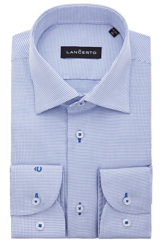 Koszula Lancerto Landi Niebieska 164-170/40