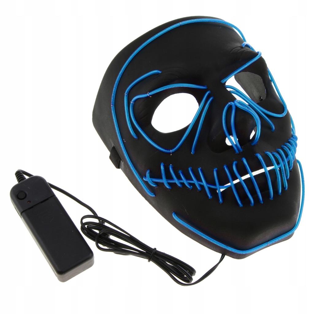 Maska światła LED
